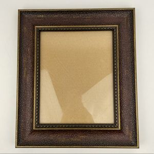 Vintage Frame with Gold and Brown Detailing